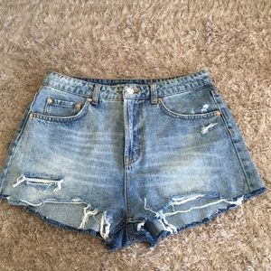 Wild Fable High Rise Jean Shorts